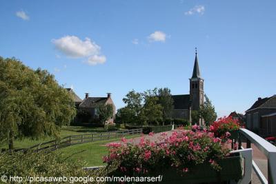 Schettens, dorpsgezicht.