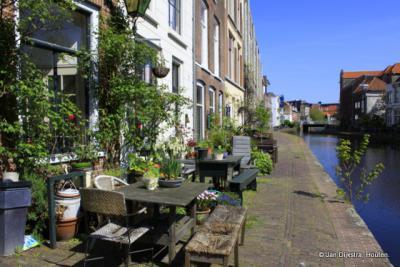 De Schie, waar Schiedam zijn naam aan heeft te danken