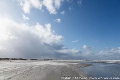 Noordzee, Schiermonnikoog, Fryslân.