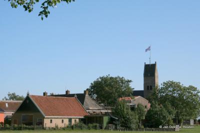 De vlag staat op de toren, dan is er feest in Schraard