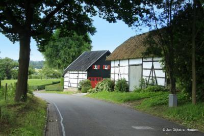 Bijna beneden in Schweiberg, nabij buurtschap Höfke