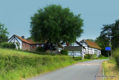 Schweiberg, gezien vanuit het noorden