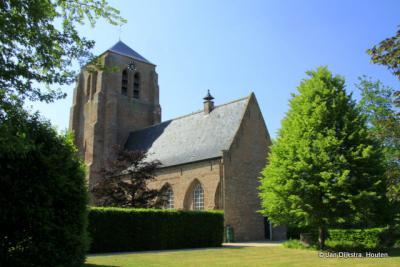 Hervormde kerk met onvoltooide toren die men De Peperbusse noemt in Sint Kruis