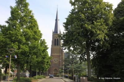 De Sint Nicolaaskerk in Sint Nicolaasga.