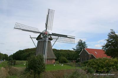 De Fraeylema Molen in Slochteren.