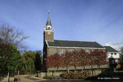 De Hervormde kerk in Sluipwijk.