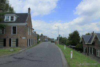 In het 'centrum' van Sluis niet ver van Ameide.