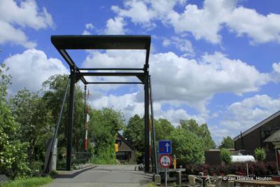 De Stokkelaarsbrug. De buurtschap Stokkelaarsbrug heeft er zijn naam aan te danken.
