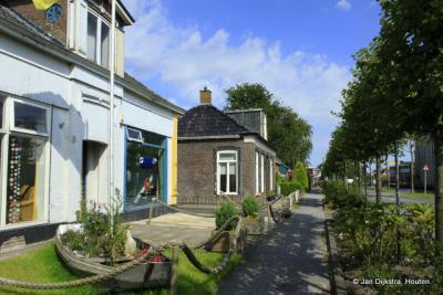 Stroobos dicht bij de grens met Groningen.