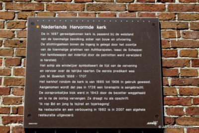 Tekst en uitleg bij de Dorpstsjerke van Surhuisterveen.