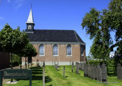 De Dorpstsjerke van Surhuisterveen.