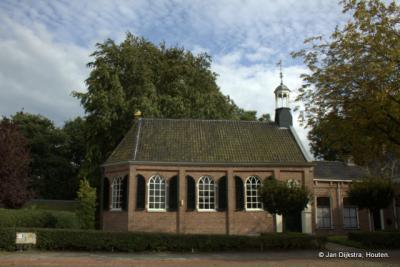 De Doopsgezinde kerk in Surhuisterveen.