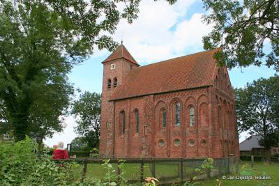 De Ursuskerk in Temunten uit de 13e eeuw.