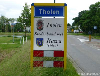 Tholen heeft een jumelage (stedenband) met het Poolse Itawa