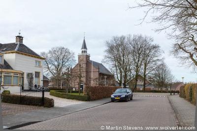 Drumpt, de Hervormde (PKN) Drumptse kerk uit 1861 valt tegenwoordig onder de Protestantse Gemeente Tiel