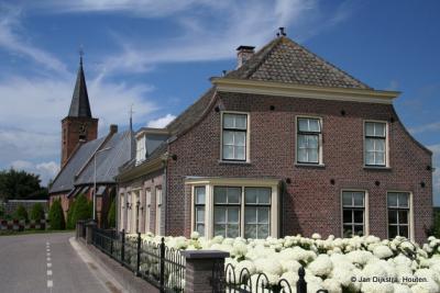 Het veerhuis in Tienhoven aan de Lek in 2011