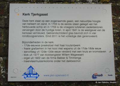 Tekst en uitleg bij de kerk van Tjerkgaast