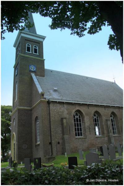 De Hervormde Sint Petruskerk in Tjerkwerd