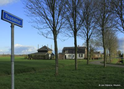 De zijweg Roodakker: ook nog buurtschap Tweesluizen?