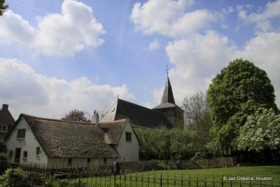 Het mooie dorp Uitwijk bereikt.