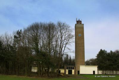 De watertoren van Valkenheide.
