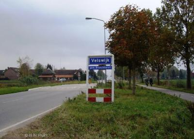 Velswijk is een dorp in de gemeente Bronckhorst. T/m 2004 viel het dorp onder de gemeente Zelhem.