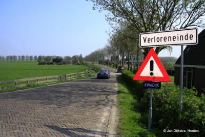 Het Verloreneinde bij Kwadijk.