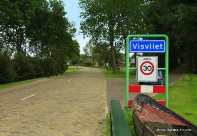 Visvliet was vroeger ook een vissersplaats.