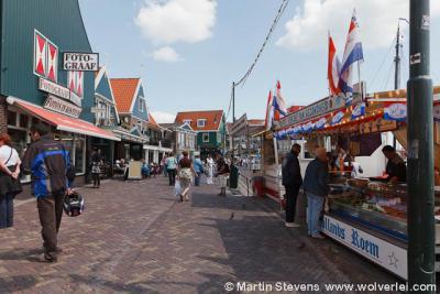 Volendam, Noord Holland, de Dijk