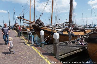 Volendam, Noord Holland, de haven