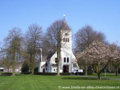 Vrederust (buurtschap van Halsteren), kerk De Ark uit 1923.