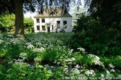 Vreeland, Vreedenhorst, landhuis aan de Vecht in de polder Dorssewaard