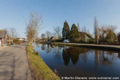 Op deze foto zie je links Vuilendam onder Gijbeland en rechts Vuilendam onder Molenaarsgraaf