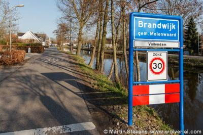 Vuilendam, gemeente Molenwaard, Zuid Holland. Kern Brandwijk.