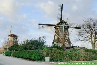 De Klomp, Weesp, Noord Holland De molens De Vriendschap en De Eendragt