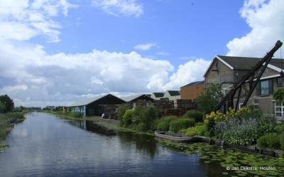 Weijpoort, aan de Oude Rijn