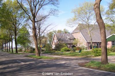 Weperpolder (buurtschap van Oosterwolde), huize Nieuw Weper.