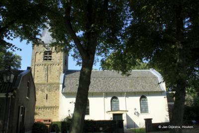 Werkhoven, Hervormde kerk, met een romaanse toren uit de 12e eeuw