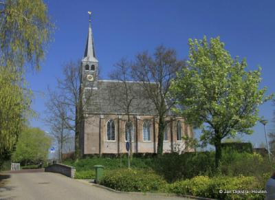 Hervormde kerk West-Graftdijk.