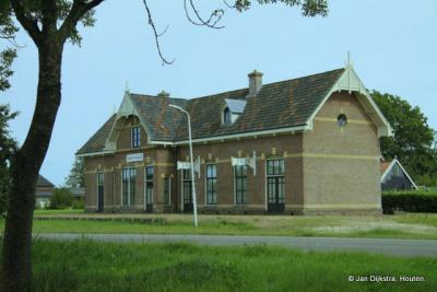 Het oude station bij Westernijtsjerk.