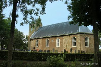 De romaanse kerk in Westernijtsjerk.