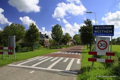 Westhem is een dorp in de provincie Fryslân, gemeente Súdwest-Fryslân. t/m 2010 gemeente Wymbritseradiel.