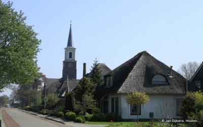 Een dorpsgezicht van Westwoud