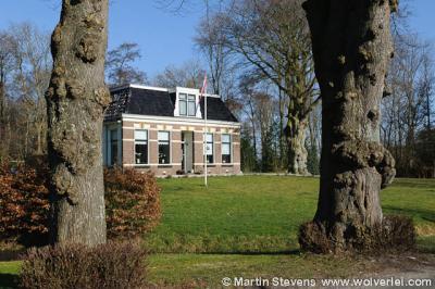 Het dorp Wijckel in de streek Gaasterland