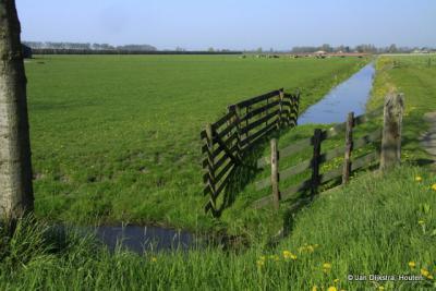 Het landschap bij Wijdenes