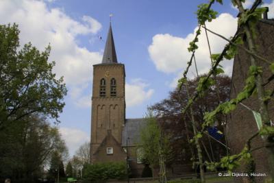 Hervormde kerk uit de 15e eeuw aan de Grote Kerkstraat in Wijk en Aalburg.