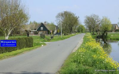 Wijngaarden een dorp in de Alblasserwaard.