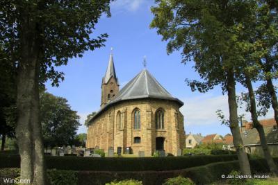 De Andreaskerk in Wijnaldum