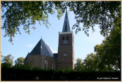De Sint-Martinuskerk in Wirdum.