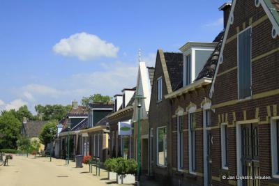 Een heel mooi rijtje in Witmarsum